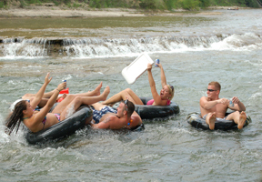 2 off guadalupe river tubing coupon 830 for Floating the guadalupe river cabins