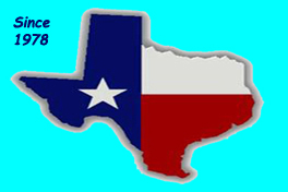 Image of the State of Texas Logo, which we proudly and respectfully use as our Logo for TubeHaus.com (830) 964-3011